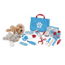 Melissa & Doug - Ensemble de jeu vétérinaire pour animaux de compagnie