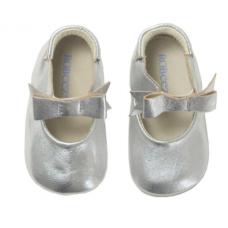 Robeez - First Kicks - Sofia - Silver Metallic