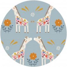 Nneka - Coussin d'allaitement - Girafes enchantées