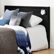 South Shore - Kanagane - Tête de lit avec tablette - Chêne noir