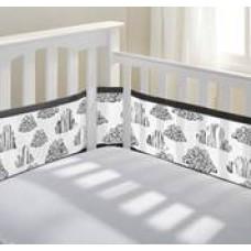 Breathable Baby - Tour de lit en filet - Nuage
