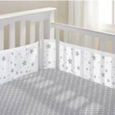Breathable Baby - Tour de lit en filet - Étoile