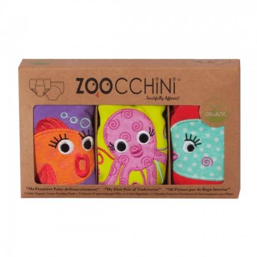 ZOOcchini - Sous-vêtement d'entrainement - Amis de l'océan Fille