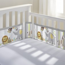 Breathable Baby - Tour de lit en filet - Safari