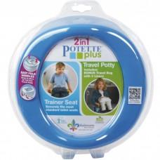 Potette plus - Toilette portative - Bleu