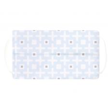Kushies - Masque de protection lavable - Carré bleu