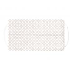 Kushies - Masque de protection lavable - Fleur beige