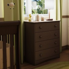 South Shore - Angel - Commode 4 tiroirs - Espresso