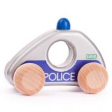 BAJO - Petite voiture de bois - Police