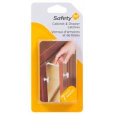 Safety 1st - Verrous à poignée large pour armoire et tiroir - Paquet de 7