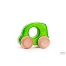 BAJO - Petite voiture de bois - Vert