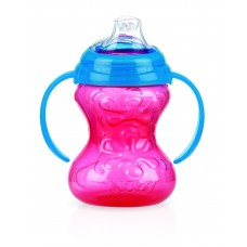 Nuby - Gobelet Clik-it™ GripN'Sip™ - 240 mL - Rose - 5310120