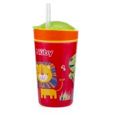 Nuby - Gobelet Snack N' Sip™ 270 ml - Lion