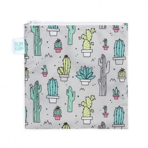Bumkins - Grand sac à lunch réutilisable - Cactus