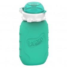 Squeasy - Contenant pour purées 6 oz. - Aqua