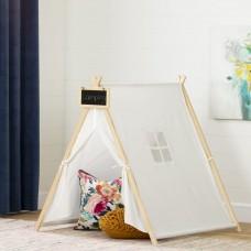 South Shore - Sweedi - Tente de jeu avec tableau - Blanc et naturel