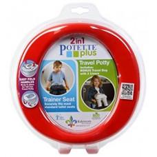 Potette plus - Toilette portative - Rouge
