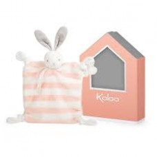 Kaloo - Bébé Pastel - Doudou Lapin - Pêche & Crème - 960089