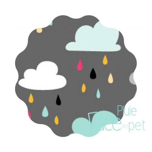 Face de Pet - Compresses d'allaitement imperméable et lavables - Pluie