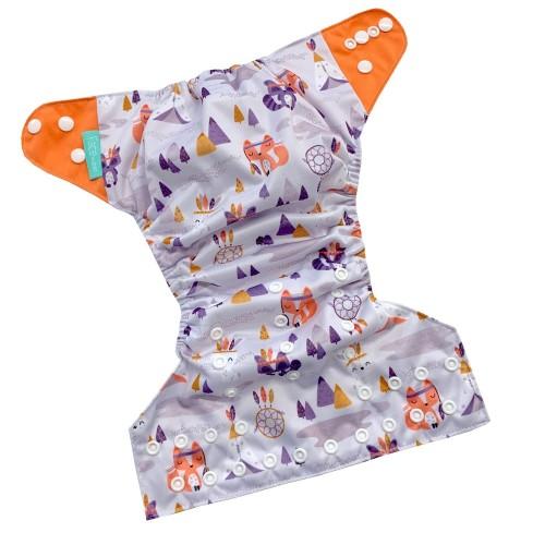 Face de Pet - Couches lavables à poche - Raton (motif exclusif)