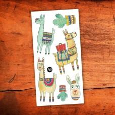 Pico Tatoo - Tatouage pour enfants - Noah l'alpaga