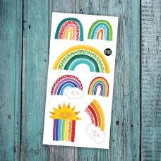 Pico Tatoo - Tatouage pour enfants - Les arcs-en-ciel colorés