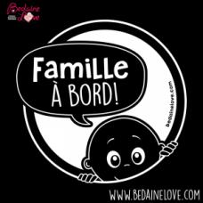 Bédaine Love - Famille à bord