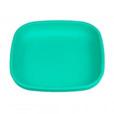 Re-Play - Assiette originale en plastique recyclé - Aqua