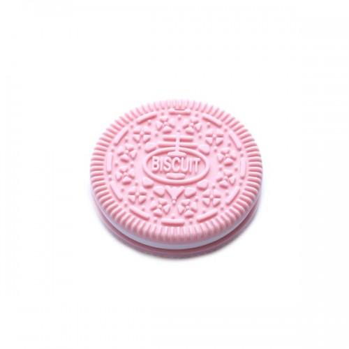 Bulle Bijouterie - Jouet de dentition Biscuit rose pâle