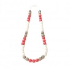 Bulle Bijouterie - Collier de dentition en silicone pour mamans - Tricolore tropique