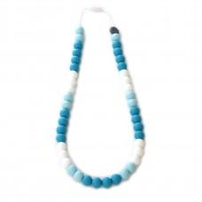 Bulle Bijouterie - Collier de dentition en silicone pour mamans - Tricolore Havre