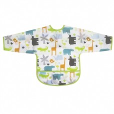 Kushies - Cleanbib avec manches - Bavette imperméable - Jungle