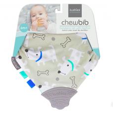 Kushies - Chewbib - Bavoir avec jouet de dentition - Fido
