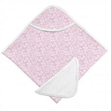 Kushies - Ensemble de serviette de bain  à capuche et gant de toilette - Baies de lilas