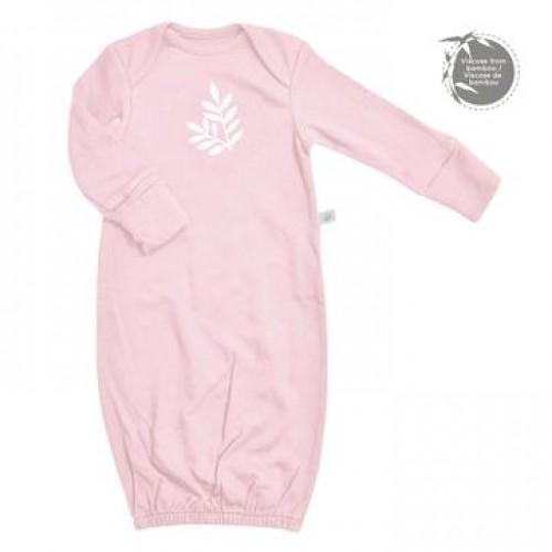Perlimpinpin - Chemise de nuit en bambou pour nouveau-né - Rose