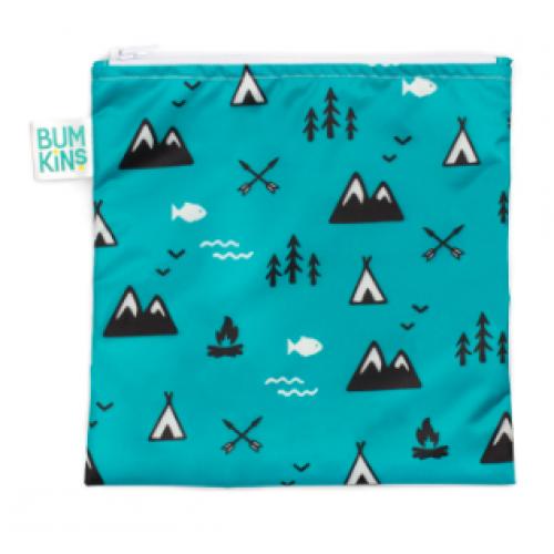 Bumkins - Grand sac à lunch réutilisable - Nature