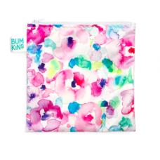 Bumkins - Grand sac à lunch réutilisable - Fleurs pastels