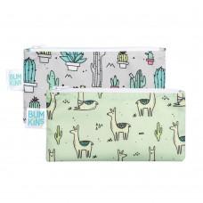 Bumkins - Petits sacs à collation - Paquet de 2 - Lamas