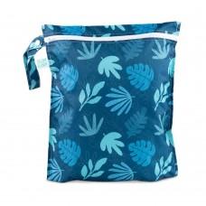 Bumkins - Sac de transport / Wetbag imperméable - Bleu tropique