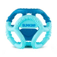 Bumkins - Jouet de dentition sensorielle en silicone - Bleu
