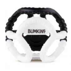 Bumkins - Jouet de dentition sensorielle en silicone - Blanc et noir