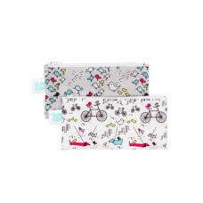 Bumkins - Petits sacs à collation - Paquet de 2 - Oiseaux
