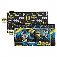 Bumkins - Sacs à collation réutilisable - Paquet de 2 - Batman