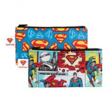 Bumkins - Sacs à collation réutilisable - Paquet de 2 - Superman