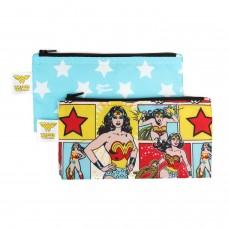 Bumkins - Sacs à collation réutilisable - Paquet de 2 - Wonder Woman