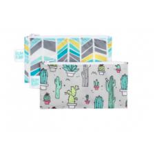 Bumkins - Petits sacs à collation - Paquet de 2 - Cactus, Quill