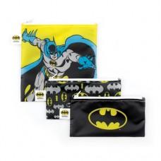 Bumkins - Sacs à collation réutilisable - Paquet de 3 - Batman