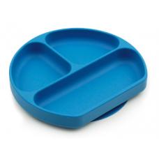 Bumkins - Assiette Dish Grip à succion - Bleu profond