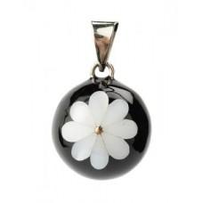 Bola - Noir et Fleur Blanche