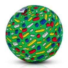 BubaBloon - Ballon gonflable avec housse en tissu - Green Blocks